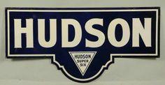 Porcelain Hudson Super Six Sign