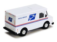 4.5-inch Diecast US Postal Service Mail Truck with Pullback Action >>> Be sure to check out this awesome product.