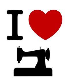 I really, really do! Sewing Art, Love Sewing, Sewing Crafts, Sewing Projects, Sewing Patterns, Sewing Room Decor, Sewing Rooms, Sewing Humor, Costura Diy