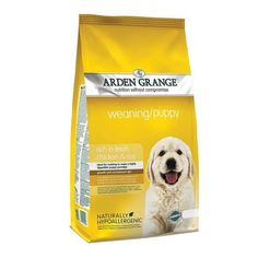 Arden Grange Chicken Rice Weaning Puppy Food Arden Grange Chicken Rice Weaning Puppy Food is a tasty nutritious way of introducing puppies onto dry food & feeding them a complete diet. Fresh Chicken, Chicken Rice, Hypoallergenic Puppies, Croquettes Chat, Compare Dog Food, Puppy Food, Pet Food, Best Dog Food, Pets