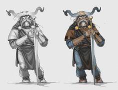 ARNIE JORGENSEN - The Banner Saga: Varl warrior