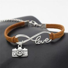 Infinity Love Photography Bracelet