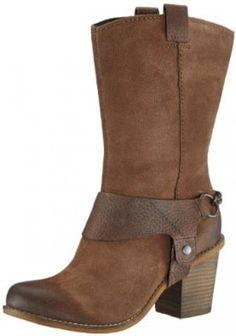 Womens Clarks Marble Opal Taupe Suede Boots: Amazon.co.uk: