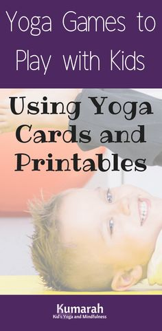 Play these fun and easy to learn yoga games for kids using just a simple tool- a set of kids yoga cards! Fun and engaging yoga games with cards are easy to learn and play at home or school. Kids Yoga Games / Active Movement Games for Classrooms / How to Teach Kids Yoga / Games and Activities for Kids Yoga / #teachingkids #yogainschools #yogaforkids #yoga