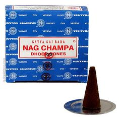 Nag Champa Incense Cones on Sale for $3.00 at HippieShop.com
