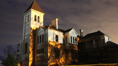 FEELING a little uneasy in your own four walls? A US website reveals if someone died in your house. Ghost Tour, Fourth Wall, Park Homes, Camden, Abandoned Places, Light Colors, Supernatural, Past, Tourism