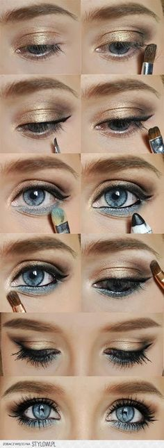 Makeup for Blue Eyes- would work with Younique Playful, Confident, & Daring www.youniqueproducts.com/TaraCrowson