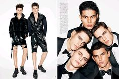 Boys Town by Terry Richardson for Vogue Hommes Japan