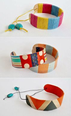 mommo design: WITH A POPSICLE STICK...Bracelets
