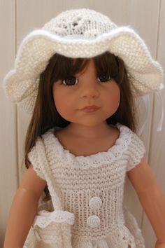 Gotz Dolls, Doll Face, Vintage Dolls, American Girl, Barbie, Crochet Hats, Fashion, Baby Dolls, Knitted Doll Patterns
