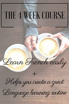 Learn French easily and form a great language learning routine Daily exercises and task  Easy system to replicate