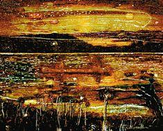 ピーター・ドイグ《Night Fishing》1993年