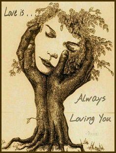 Love is . . . Always Loving You ~ Poonja ⊰♡⊱ from a talk by Tara Brach