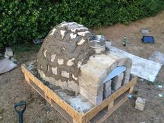 How to Make a Homemade Pizza Oven : 8 Steps (with Pictures) - Instructables Pizza Oven For Sale, Pizza Oven Kits, Pizza Ovens, Stone Pizza Oven, Oven Diy, Barbacoa, Fireplace Garden, Backyard Pavilion, Four A Pizza