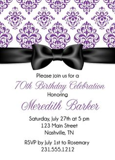 168 Best Adult Birthday Party Invitations Images In 2019 Adult