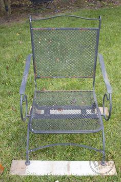 Restore Metal Outdoor Furniture To Like New Gardening
