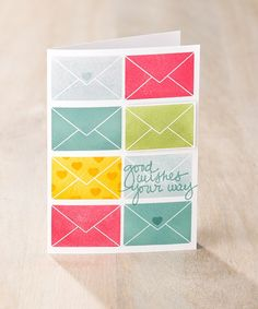 Good Wishes Card - SU - Lovely Amazing You - new Feb 2015 Photopolymer stamp set