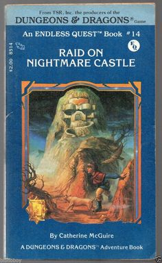 1983 1st of Dungeons & Dragons Endless Quest #14 Raid on Nightmare Castle