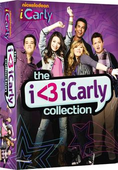 Available in: DVD.This three-pack serves up fifteen episodes of the popular Nickelodeon sitcom iCarly, about a teen girl and her best friends who Nick Tv Shows, Icarly Cast, Dan Schneider, Nickelodeon Shows, Love Store, Theme Song, Movies Showing, Favorite Tv Shows, Girls Girls Girls