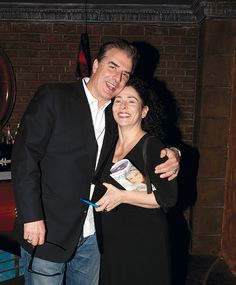 Chris Noth with Organic Spa Magazine Editor-in-Chief Rona Berg at the benefit for Rainforest Action Network in NYC. Photo by Nuri Daynish.
