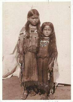 Two of Quanah Parker's daughters.