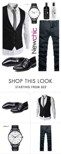 """""""168 newchicl"""" by erohina-d ❤ liked on Polyvore featuring men's fashion and menswear"""