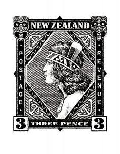 Historical NZ Stamp Print - Wahine for Sale - New Zealand Art Prints Vanuatu, Waitangi Day, Nz History, Maori Designs, New Zealand Art, Nz Art, Creation Crafts, Maori Art, Kiwiana