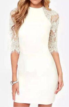 Amelie Vintage Lace Dress – Trendy Road