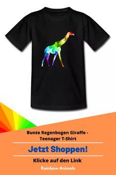 Kaufe dir jetzt dieses coole Premium T-Shirt. Lass dir diese und weitere Tier-Zeichnungen auf deine Accessoires drucken. Lasse dich inspirieren   Schau jetzt in unserem Shop vorbei! Klicke jetzt auf den Link! #Tshirt #Teenager #Herrenmode #Damenmode #Stile #Spreadshirt #Giraffe #Rainbowanimals #Mode #Modeinspiration #Inspiration #Herrenstile #Damenstile