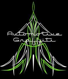 AG Green Pinstriping