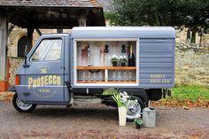 FESTIVAL BRIDES | We Heart: The Bubble Bros Prosecco Van