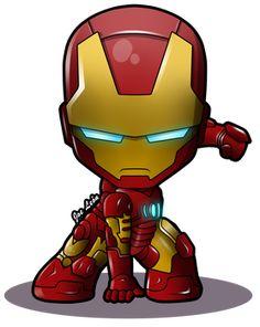 JoeLeon - Student, General Artist   DeviantArt Baby Avengers, Avengers Cartoon, Iron Man Wallpaper, Marvel Wallpaper, Chibi Marvel, Marvel Heroes, Marvel Avengers, Marvel Comics, Iron Man Kunst