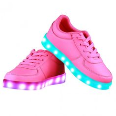 Low Top LED Light Up Shoes For Kids