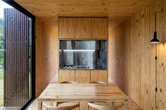 A home so tiny it could fit on this page, yet an idea so large it bursts through architectural boundaries on its way to redefining what it means to live small. The prefab Minimod by MAPA Architects presents a new take on the small cabin . You won't find a lofted bed over a cramped …
