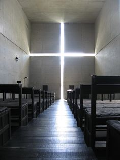 Tadao Ando - I think almost everything he designed is brilliant! (This is one of the most arresting uses of natural light I have ever seen).