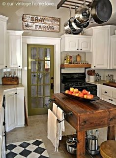 would love to have regular door out to mudroom