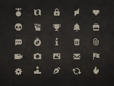 Iconfinder Game Solid Icon 50 Set by LayerLab - Dribbble