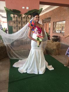 Tsonga Wedding Dress Tsonga Wedding Dress - tsonga wedding dress French tennis amateur Jo-Wilfried Tsonga, was agape out in three beeline sets by Spanish ace Rafael Nadal Traditional Wedding Attire, African Traditional Wedding, African Traditional Dresses, African Wedding Attire, African Attire, African Dress, Off White Wedding Dresses, Designer Wedding Dresses, Tsonga Traditional Dresses