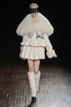 Alexander McQueen at Paris Fashion  Week Fall 2012