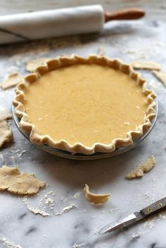 It would probably be best to enjoy this sweet Apricot Buttermilk Pie with a big floppy hat, a Scarlett O'Hara inspired dress, some sort of lavish frontporch, a glass of iced tea, and a slow-…
