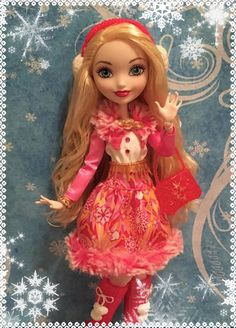 Here's my Ever After High: Epic Winter™ Apple White™ (Daughter of Snow White) doll!