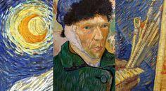 Vincent Van Gogh paintings Collage.