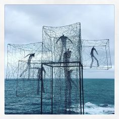 People in cages... #sculpture #art #culture #sculpturesbythesea #sculpturesbythesea2015 #sea #ocean #water #bondi #bondibeach #coast #walk #bronte #bonditobronte #people #cage #escape #sydney #nsw #australia #instagood #instadaily #sky #clouds #cloudporn #storm #weather #explore #picoftheday #picture by laura_inthesky http://ift.tt/1KBxVYg