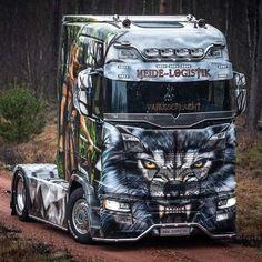 Customised Trucks, Custom Trucks, Show Trucks, Big Rig Trucks, Stock Car, Custom Big Rigs, Road Train, Mercedes Maybach, Engin