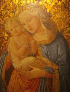 FILIPPO LIPPI (Fra) scuola di - Madonna con Bambino - XVI secolo