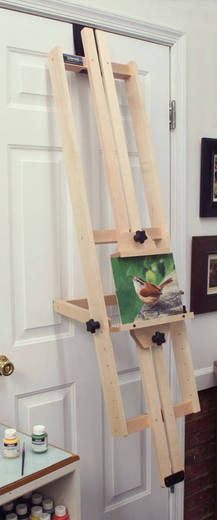 Not enough space for an easel? Are you ready to spend more time painting and less time setting up and tearing down? Ready to get rid of that awkward table-top easel? Want to paint comfortably on a professional-grade easel while standing or sitting?  The GENESIS easel is the answer!