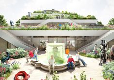NL Architects Shortlisted to Design ArtA Cultural Center in Arnhem,ArtA Park. Image Courtesy of NL Architects