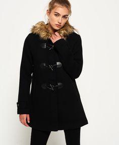 Superdry Duffle Coat Brooklyn pour femme