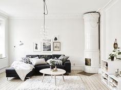 black, white, straight, clean, not too crowded. makes the eye relaxing already... Nordhemsgatan 68 B | Stadshem