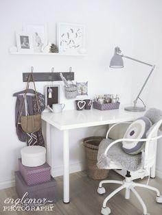 Englemor: Un gran espacio de trabajo de las niñas.